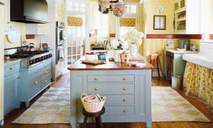 30 Cool Beach Style Kitchen Designs