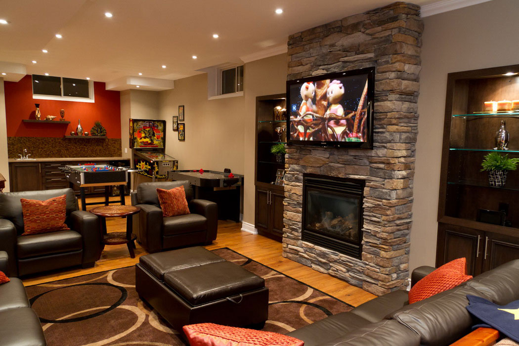 charming-chic-basement-family-room-design-ideas