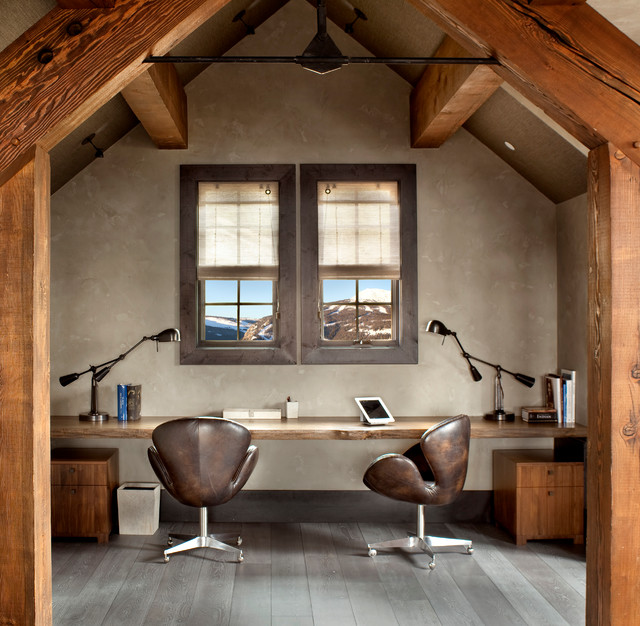 contemporary-home-office-wooden