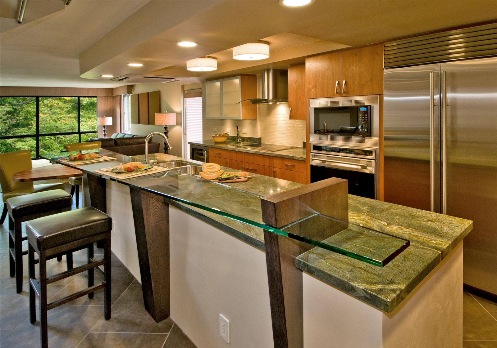 creative-open-kitchen-with-breakfast-counter-designs-on-kitchens-with-open-contemporary-kitchen-design-ideas