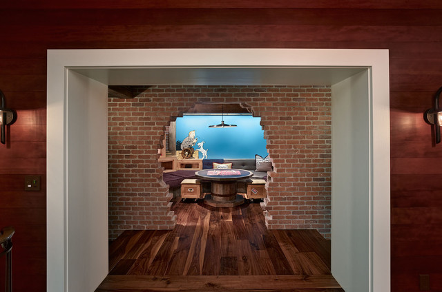 eclectic-basement-ideas