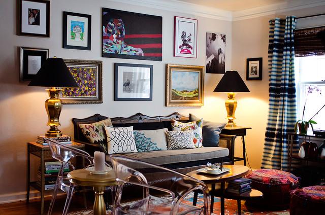 eclectic-living-room Birdhouse Design