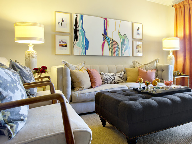21 Stunning Eclectic Living Room Designs