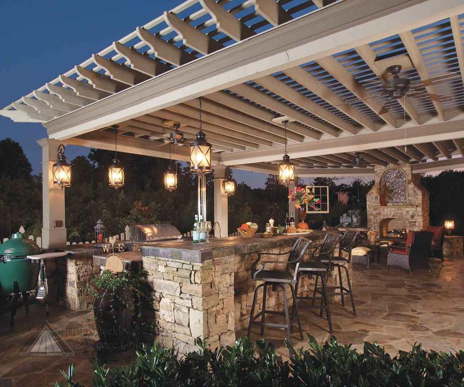 outdoor kitchen-dusk2