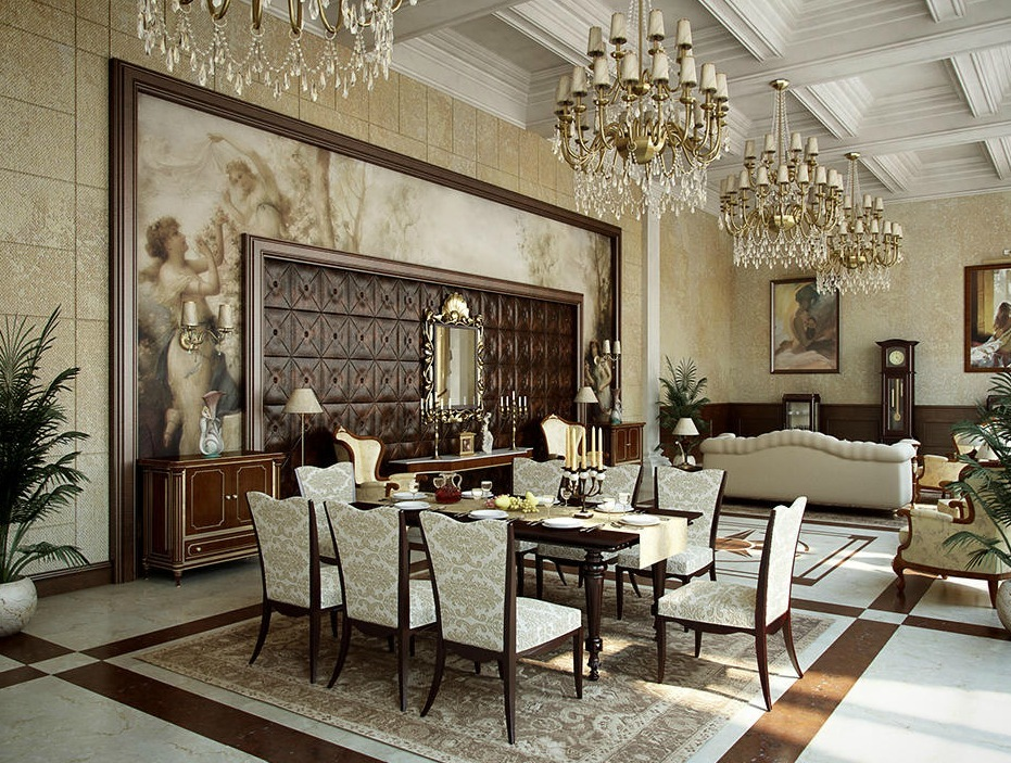 fine-classic-style-for-elegant-dining-room-design-ideas