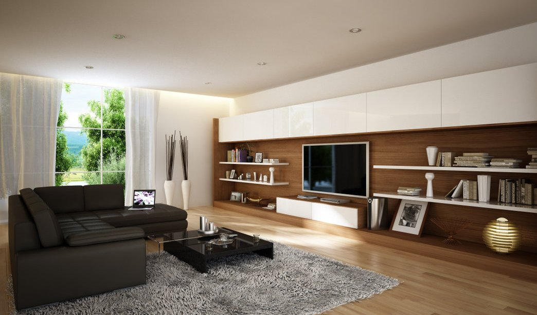 living room by