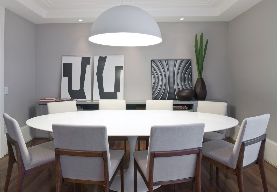 modern dining table interior design