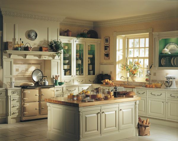 nspiring Traditional Kitchen Designs