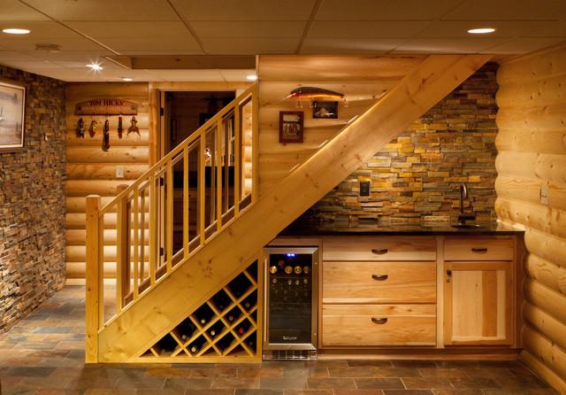 rustic-basement