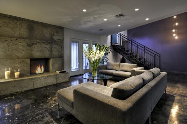 stunning basement