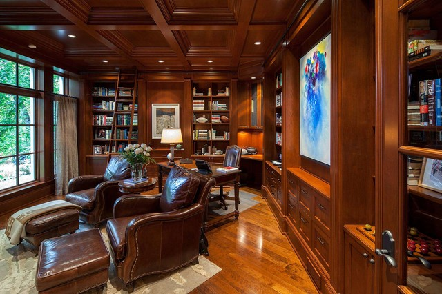 traditional-home-office-design-with-elegant-furniture