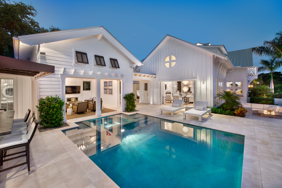 Charming-Cottage-Chic-home-interior-design-Beach-Style-Pool-Miami