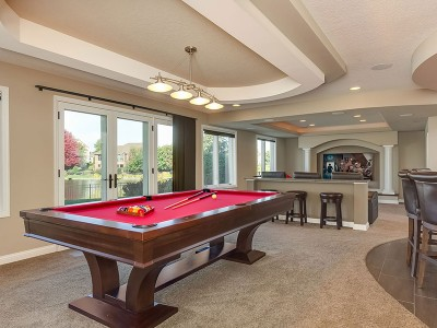 Court-Basement-Pool Table