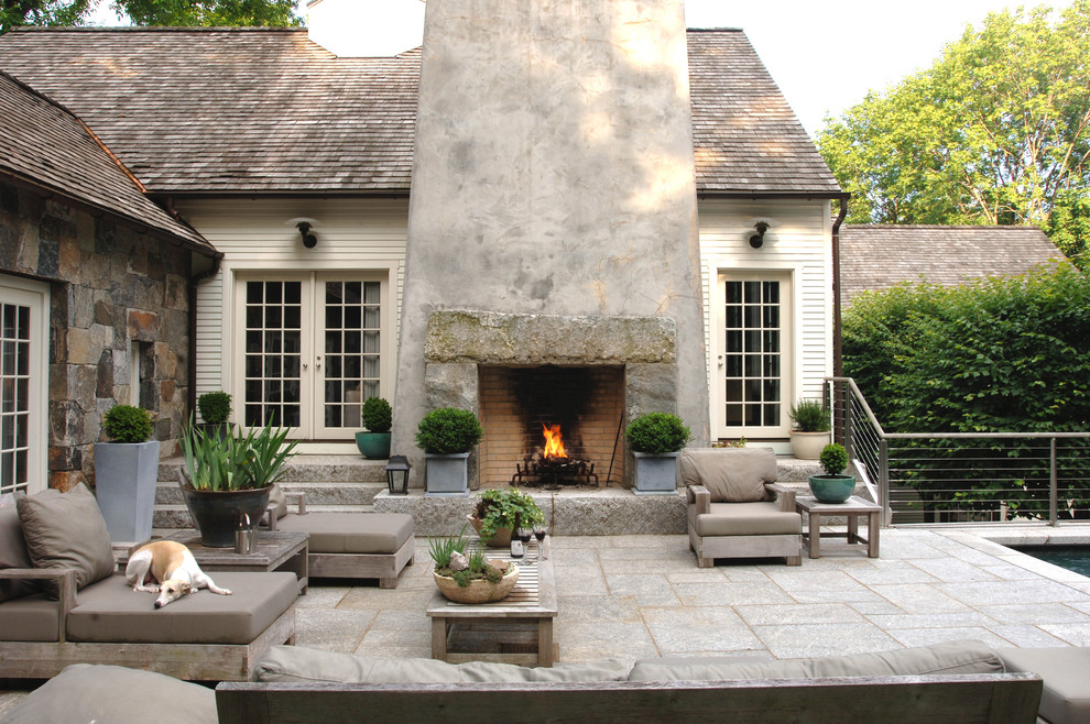 Engaging-Outdoor-Fireplace-home-remodel-Farmhouse-Patio-Other-Metro