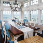 21 Cool Beach Style Dining Design Ideas