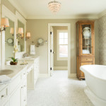 25 Beautiful Farmhouse Bathroom Designs