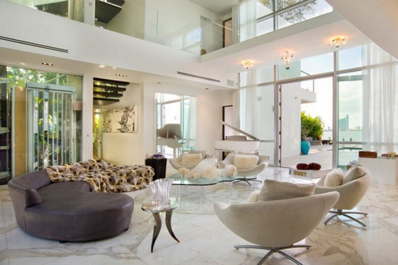 Fascinating-Decorating-Ideas-for-Living-Room-with-High-Ceilings-