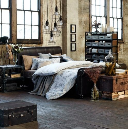 Industrial Bedroom Designs That Inspire