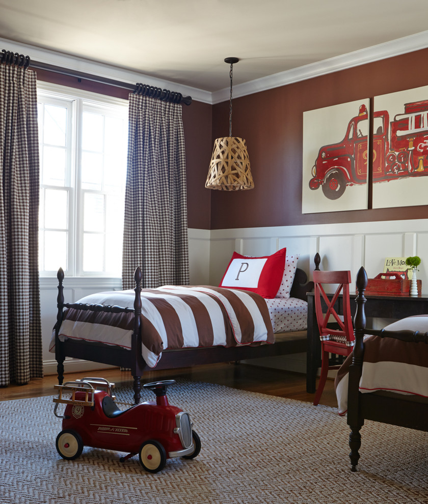 Magnificent-Kids-Traditional-design-ideas-for-Vintage-Boys-Room-Decor-Ideas