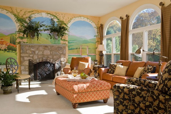 Mediterranean-Living-Room---