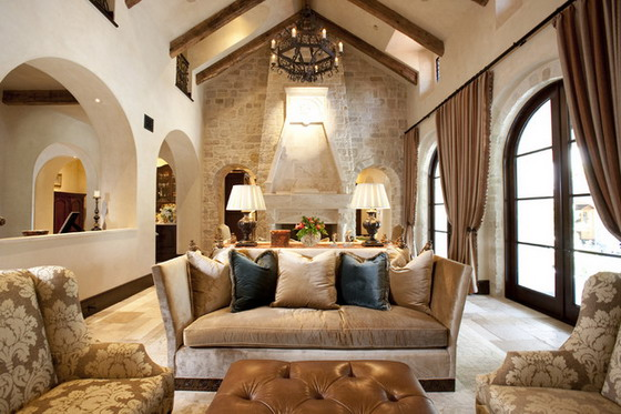 Mediterranean-Living-Room-and-Dining-Room