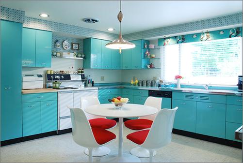 Mid-Century Modern Kitchens1