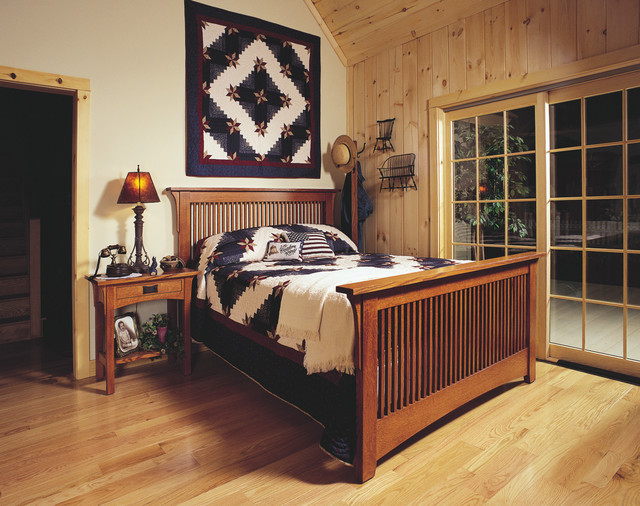 Mission Style Of Craftsman Bedroom