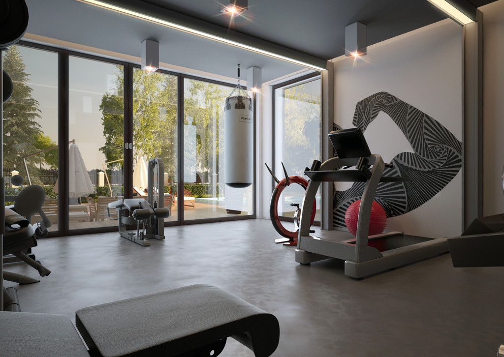 Private Gym Designs For Your Home