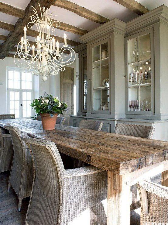 Rustic Dining Design