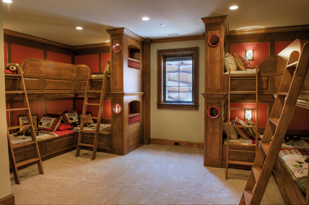 Sensational-Diy-Bunk-Beds-decorating-ideas-for-Kids-Rustic-design-ideas-with-Sensational-bunk-beds-ceiling
