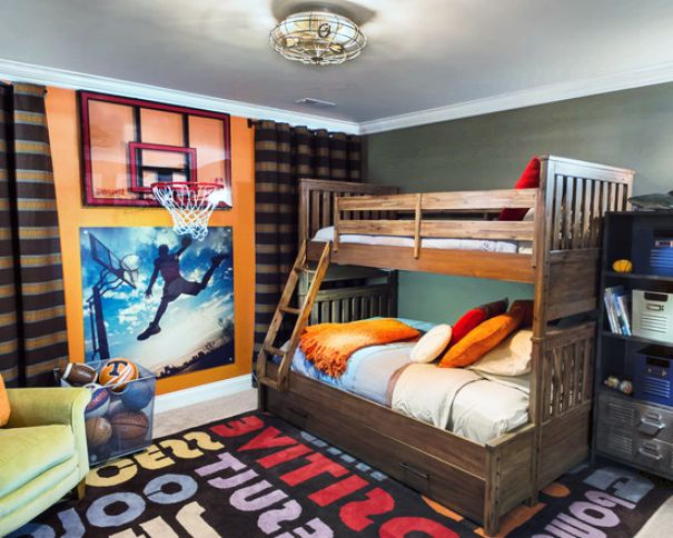 Transitional-Kids-Bedroom-Decorating-Ideas