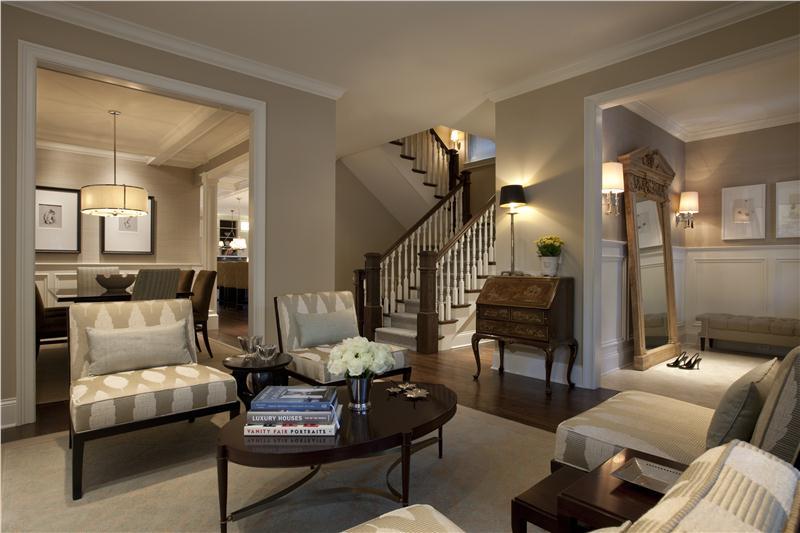 amusing living room | 30 Marvelous Transitional Living Design ideas
