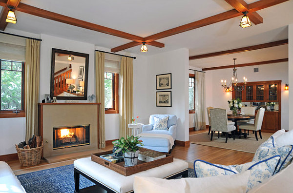 contemporary-craftsman-style-living-room