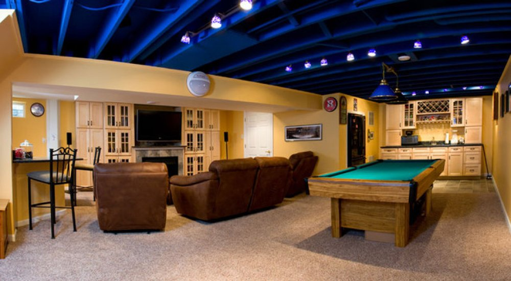cool-basement-ceiling-ideas