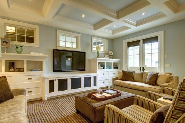 craftsman-living-room-decoration