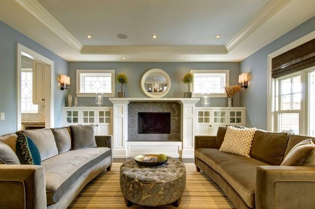 craftsman-living-room-idea