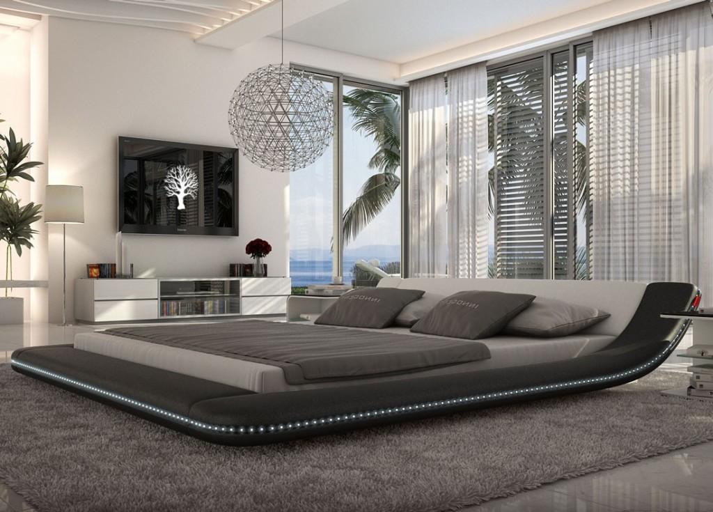 custo_led_black_platform bed