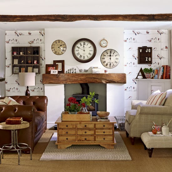 farmhouse livingroom design