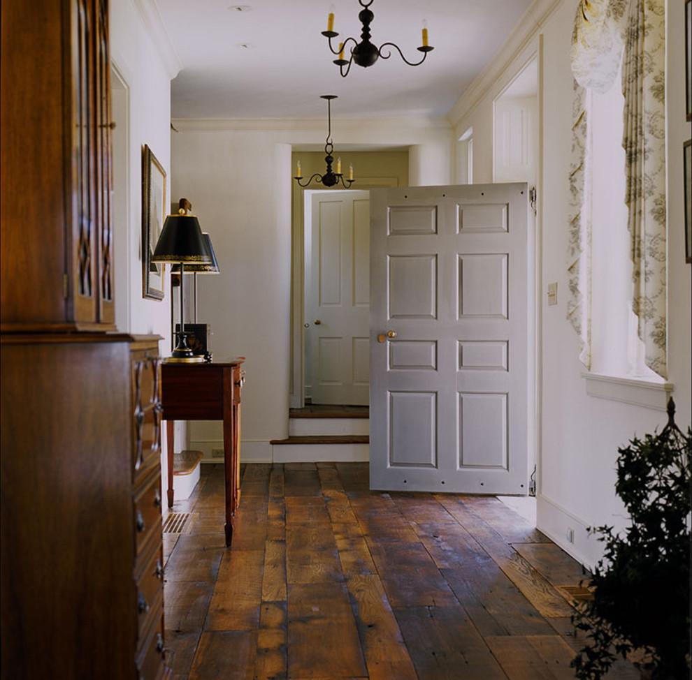 floor-muffler-Entry-Farmhouse-with-chandelier-cottage-farmhouse-flooringdoorslightdetail-front-door-rustic-wood-rustic-wood-floor-wood1