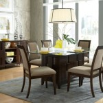 15 Elegant Glass Dining Room Tables