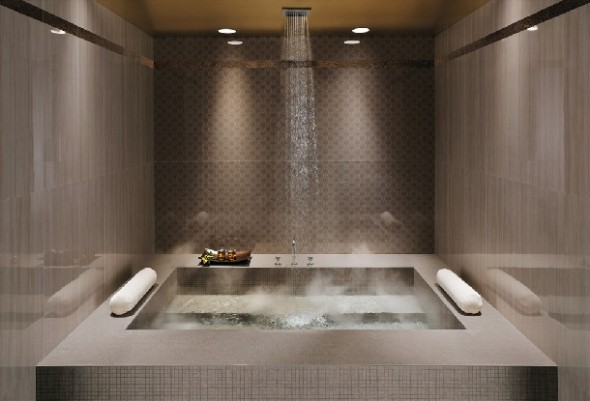 15 Beautiful Bathrooms With Rain Shower