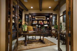 20 Amazing Mediterranean Home Office Design