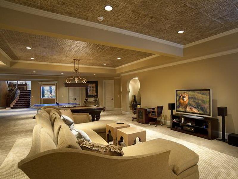 mid-century-basement-lounge-room-design-ideas
