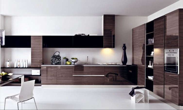 modern-brown-kitchen