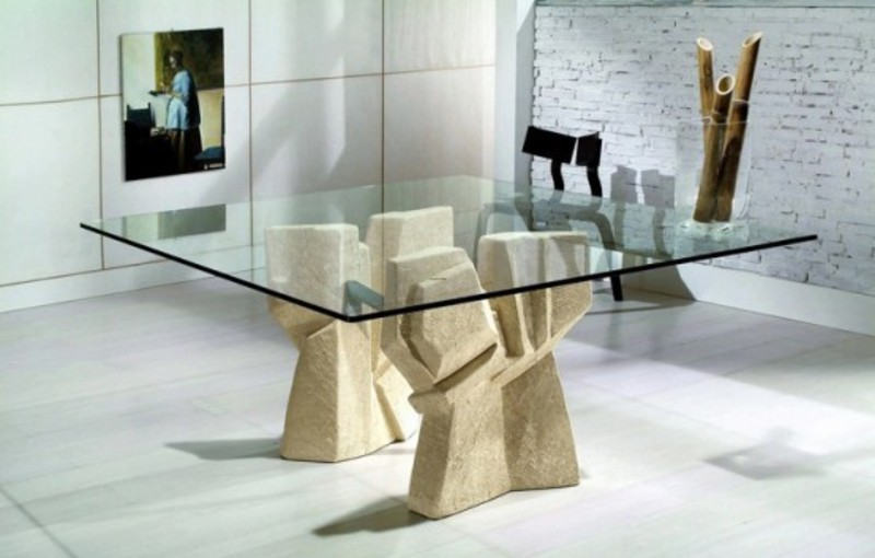 modern glass dining table, dining sets, dining table, tables
