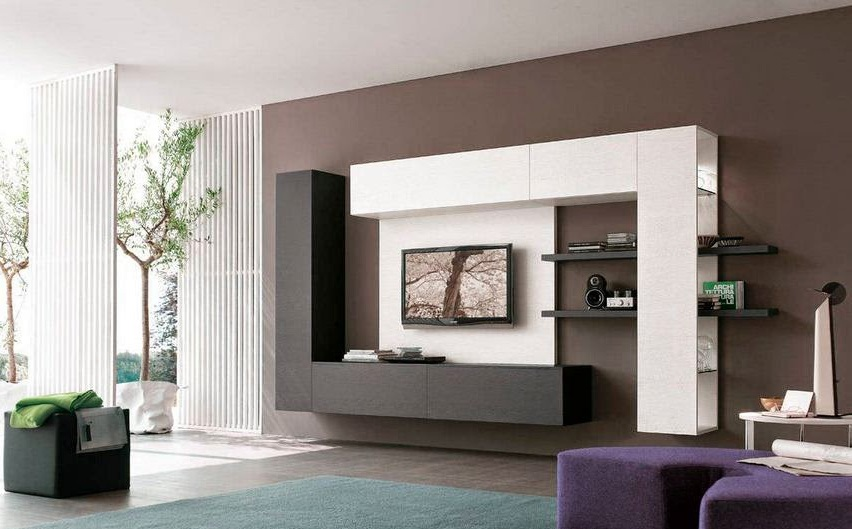 modern-tv-units-hanged-on-wall-completely