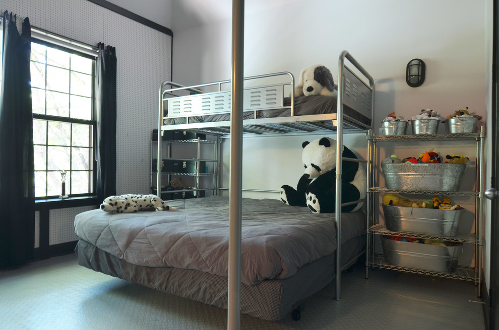 pictures-of-bunk-beds-Kids-Industrial-with-Bedroom-beds-boys-bunk