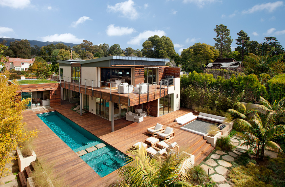 roof-deck-ideas-Exterior-Contemporary-with-architecture-Asian-backyard-retreat