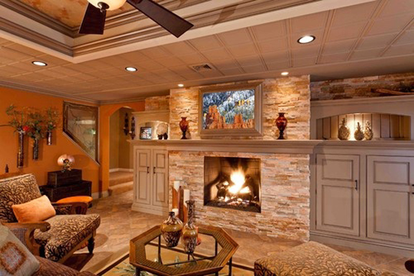 rustic-basement-ideas-