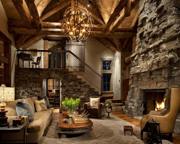 rustic-living-room-decorating-idea-peace-design-